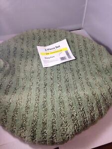 Sheridan  Plush Washable Nylon Toilet Seat Lid Cover - Deep Fern