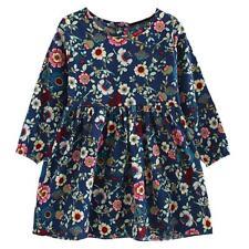 Kids Children Girls Long Sleeve Floral Princess Dress Casual Autumn Summer Dress