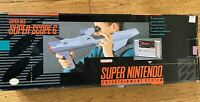 Super Scope for Super Nintendo With 6 Game Cartridge MISSING SCOPE