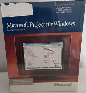 RARITÄT - Microsoft Project 1.00 (Promo) für Windows - Deutsch - NEUWARE