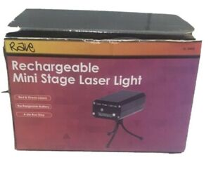 Rave Rechargeable Mini Stage Laser Light