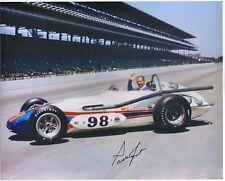 ~PARNELLI JONES Signed Autographed 1963 INDY 500 WINNING CAR 8X10 Photo~