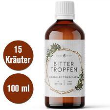 Bitterstoffe Bittertropfen nach Hildegard von Bingen, 100ml mit 15 Bitterkäutern