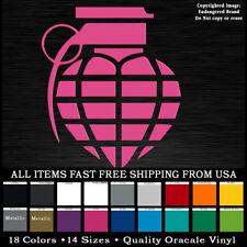 Heart Grenade Funny Decal sticker