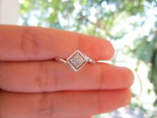 .10 Carat Diamond White Gold Ring 10k sepvergara