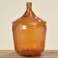 "Vase groß ""Rango"" lackiertes Glas braun  Deko-Vase H56 cm"