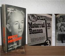 DDR Buch über Kommunist : Fritz Heckert Lebensbild eines Zeitgenossen (Spartakus