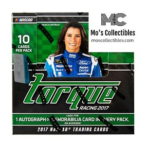 2017 Panini Torque Racing 8 Box Hobby Inner Case Group Break Chase Elliott