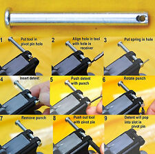 AR Pivot Pin Installation Tool -- No More Flying Detents - All AR .223/5.56