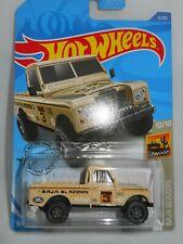 Land Rover Series III Pickup Desert Sand  Baja Blazers ~ 2020 Hot Wheels ~ 3/250