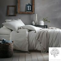 Appletree Signature TRENTON SPOT Linen 180TC 100% Cotton Tasselled Duvet Set