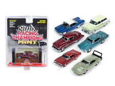 MINT RELEASE 1 SET A SET OF 6 CARS 1/64 DIECAST BY RACING CHAMPIONS RC001A