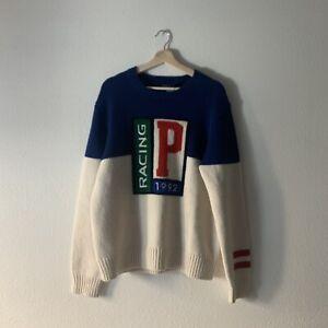 Polo Ralph Lauren 1992 Polo Racing Wool Sweater NWT Sz S