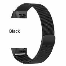 for Fitbit Charge 3 Metal Bands Band unisex Replacement Stainless Steel Watch