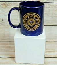 SUNY Alfred State College Cobalt Blue & Gold Coffee Mug Cup University New York