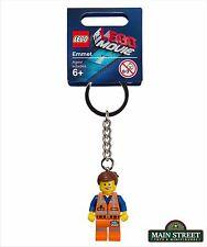 LEGO Movie Keychain 850894 Emmet Minifigure - New with Tag