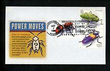 Ranto Cachet Us Fdc #3351b,i,p on Cacheted Env wasp katydid insect 1999
