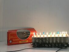 Vintage /retro Push In Candle Fairy Lights X 20