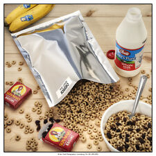 """(10) 1-Gallon 10""""x14"""" Mylar Foil Bags Long Term Food Storage (Holds up to 50lbs)"""