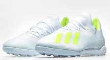 adidas X 18.3 TF Football TURF Trainers White / Sol Yellow UK6 US6.5 £69 #CW106