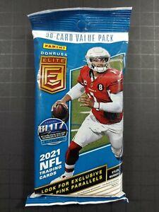 Panini NFL 2021 Donruss Elite  value pack Sealed LAWRENCE,JONES,FIELDS, RC ???