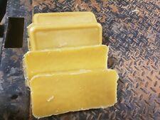 4lbs - 100% Pure Beeswax  (Yellow)