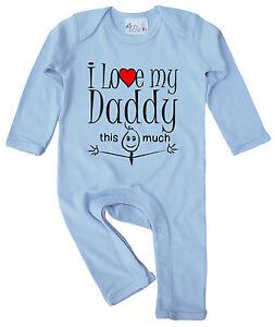 """Papà Vestiti Bambino """" i Love il Mio This Varie """" Pagliaccetto Father's Day"""