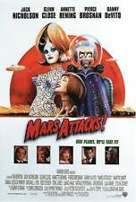 Mars Attacks! (2) Poster Canvas Picture Art Print Premium Quality