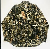 Russell Outdoor Men's 3XL Camouflage Jacket Button Down Shirt