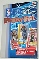 2004 NBA Basketball Valentines Day Cards - 34 Flashy Foil Fold & Seal - NIB