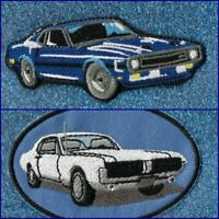 Muscle Car embroidery patch (2 options)
