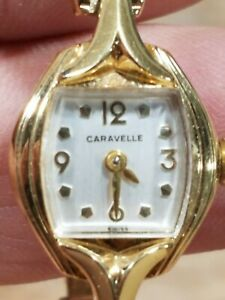 Caravelle By Bulova Caravelle N5 NOS With Original Case & Box Great Shape