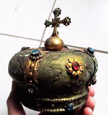 Arte sacra: coroncina in metallo