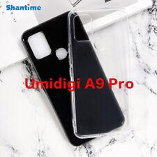 Für Umidigi A9 Pro Hülle Silikon Case Transparent Handy Tasche Cover Bumper TPU