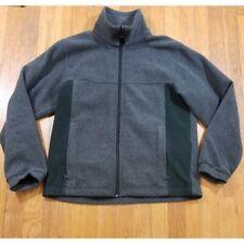 Columbia Boys Grey Fleece Full Zip Jacket Size 14/16