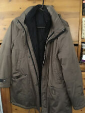 GORE TEX women/ladies jacket, size XS, waterproof, dark beige 2in1,German design