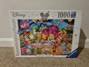 Ravensburger Disney Collector's Alice in Wonderland 1000 Piece Jigsaw Puzzle