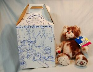 Build A Bear Baskin Robbins Hot Fudge Sundae Bear w/Sundae NWT