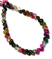 6-8 mm Tourmaline Beads Tourmaline Faceted Teardrop briolette shape beads Jewelry making BH#440 Natural Multi Color Tourmaline beads