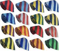 High School Seniors Tie Equal Stripes Block Stripe 11-16 Year Olds