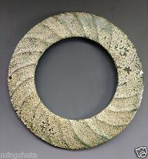 Amazing Ancient Chinese Neolithic Nephrite Jade Bi For Ritual Sun Worship