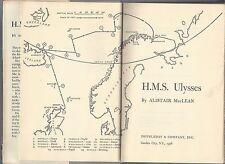 Hms ulysses novel of war in the north atlantic by allistair maclean hc/dj 1st
