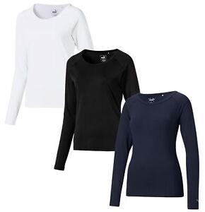 Puma Womens Long Sleeve Sun Crew Golf Shirt 577901 - New 2021