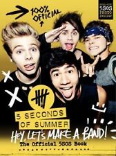 Hey, Let's Make a Band!: The Official 5SOS Book (English) Hardcover Book