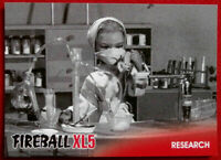 FIREBALL XL5 - Base Card #32 - RESEARCH - Gerry Anderson Collection - 2017