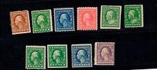 US Stamp  10 Washington-Franklin  Coils & Imperf.  MH  OG