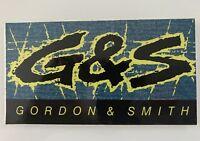 Vintage G & S Gordon & Smith G&S Surfboard Sticker 1980's - RARE