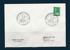 FRd enveloppe  Rotary  cinquantenaire   club  67  Strasbourg  1978