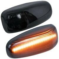 LED SEITENBLINKER schwarz für MERCEDES W202 S202 W210 S210 A208 C208 R170 7231-1