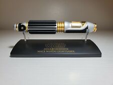 Master Replicas Star Wars Mace Windu .45 Lightsaber Collectors Society Limited
